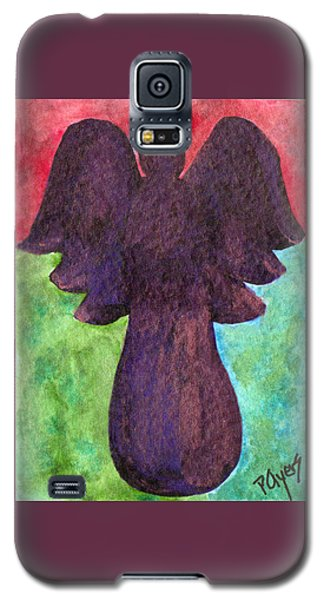 Night Shift Angel Galaxy S5 Case by Paula Ayers