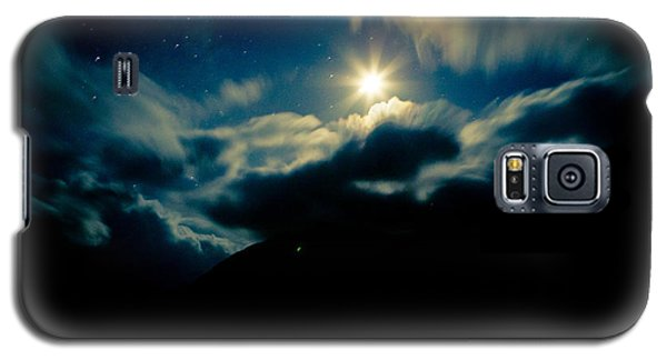 Night Sky And Moon Himalyan Galaxy S5 Case