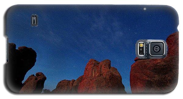 Night Sky City Of Rocks Galaxy S5 Case