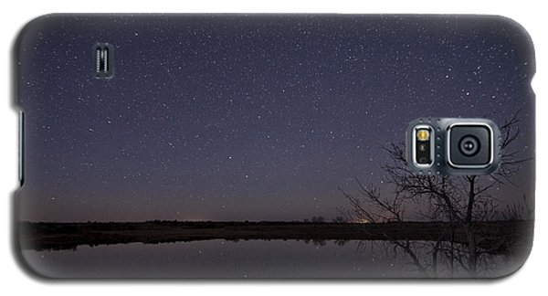 Night Sky Reflection Galaxy S5 Case by Melany Sarafis