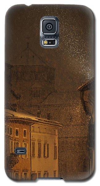 Night Snowfall Galaxy S5 Case