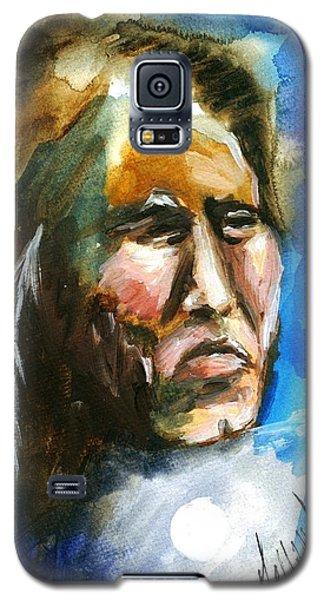 Galaxy S5 Case featuring the painting Night Spirit by Karen  Ferrand Carroll