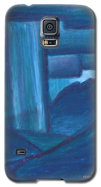 Night Storm Over Mt. Sopris Galaxy S5 Case