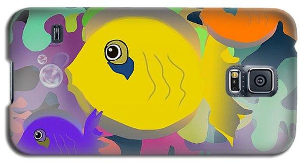 Night Swimming Galaxy S5 Case by Christine Fournier