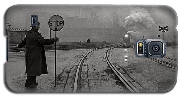 Night Train Thru Fog Galaxy S5 Case