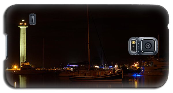 Night View Of Put-in-bay Galaxy S5 Case by Haren Images- Kriss Haren