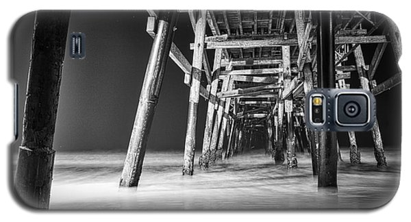 Night View Under San Clemente Pier Galaxy S5 Case