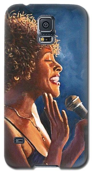 Nightclub Singer Galaxy S5 Case
