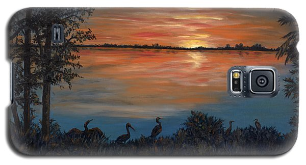 Nightfall At Loxahatchee Galaxy S5 Case