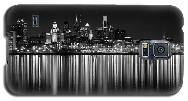 Nightfall In Philly B/w Galaxy S5 Case