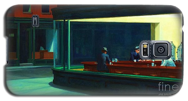 Nighthawks Galaxy S5 Case by Pg Reproductions