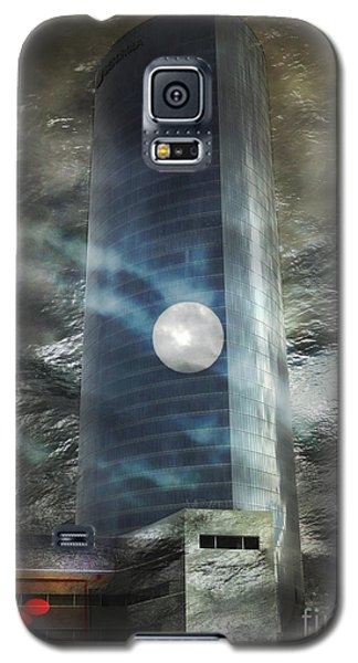 Galaxy S5 Case featuring the digital art Nightmare Tower by Rosa Cobos