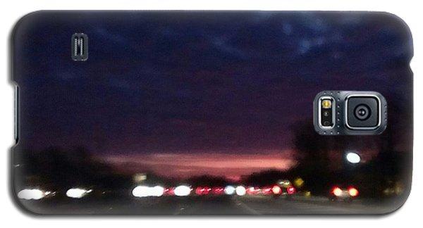 Nighttime Drive Galaxy S5 Case