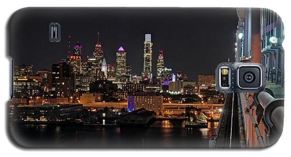 Nighttime Philly From The Ben Franklin Galaxy S5 Case