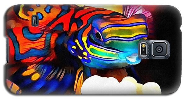 Galaxy S5 Case featuring the painting Nike  by Catherine Lott