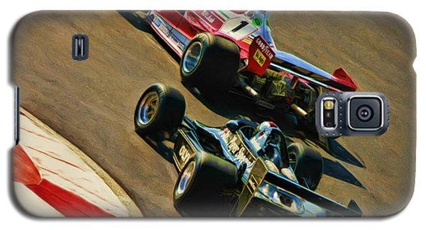 Niki Lauda Leads Mario Andretti Galaxy S5 Case