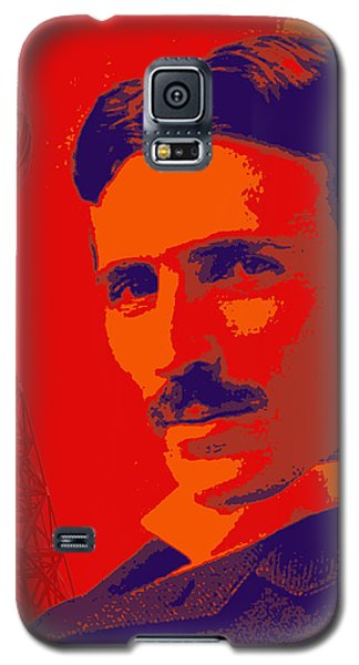 Nikola Tesla #1 Galaxy S5 Case by Jean luc Comperat