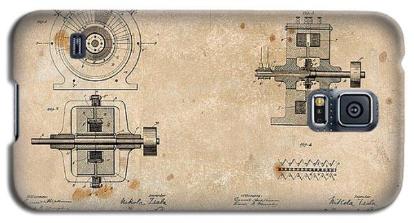 Nikola Tesla's Alternating Current Generator Patent 1891 Galaxy S5 Case