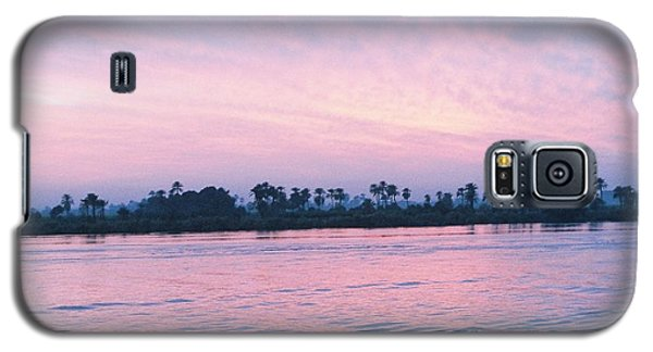 Galaxy S5 Case featuring the photograph Nile Sunset by Cassandra Buckley