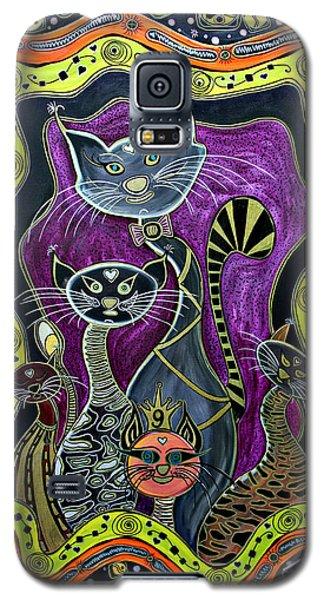 Nine Lives     Galaxy S5 Case by Jolanta Anna Karolska