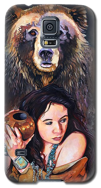 Nine Stars Woman - Bear Medicine Galaxy S5 Case