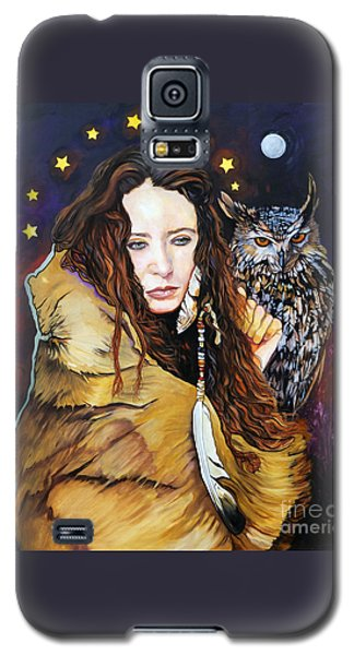 Nine Stars Woman / Owl Medicine Galaxy S5 Case
