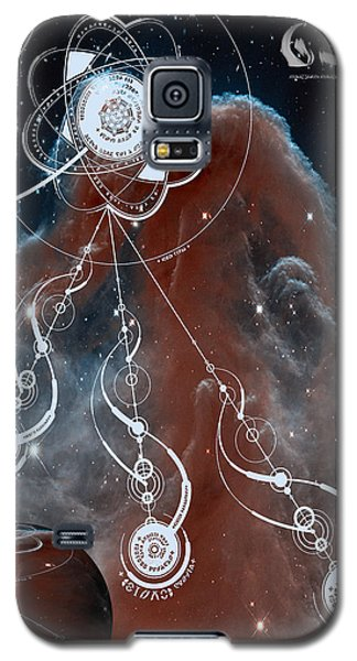 Galaxy S5 Case featuring the photograph No. 2 Alien Greeting Card by Robert Kernodle