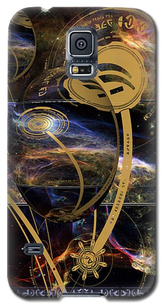 Galaxy S5 Case featuring the photograph No. 3 Alien Greeting Card by Robert Kernodle