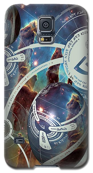 Galaxy S5 Case featuring the photograph No. 4 Alien Greeting Card by Robert Kernodle