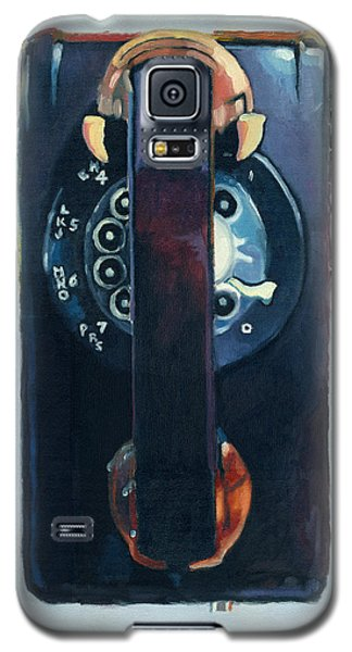 No Answer Galaxy S5 Case by Katherine Miller