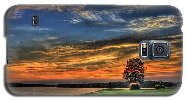 No Better Day Golf Landscape Art Galaxy S5 Case