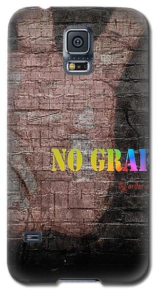 No Graffiti Galaxy S5 Case
