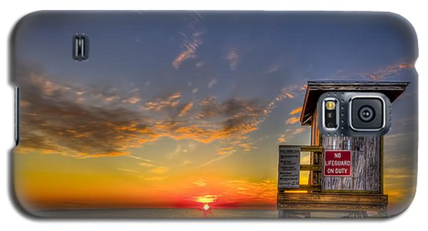No Life Guard On Duty Galaxy S5 Case by Marvin Spates