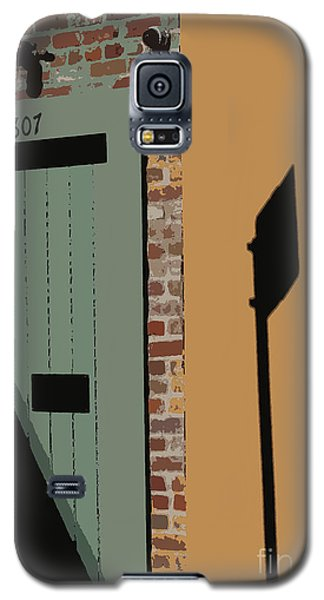 Galaxy S5 Case featuring the photograph No Park Nola  by Ecinja Art Works