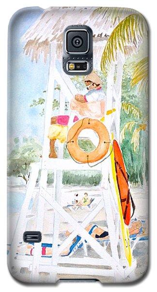 No Problem In Jamaica Mon Galaxy S5 Case by Marilyn Zalatan