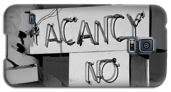 No Vacancy Galaxy S5 Case by Daniel Woodrum