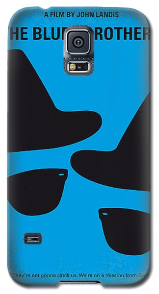 Cities Galaxy S5 Case - No012 My Blues Brother Minimal Movie Poster by Chungkong Art