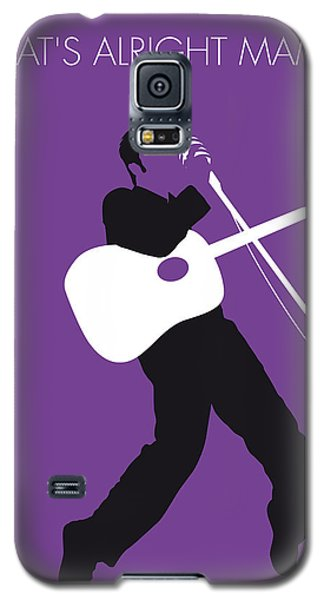 No021 My Elvis Minimal Music Poster Galaxy S5 Case