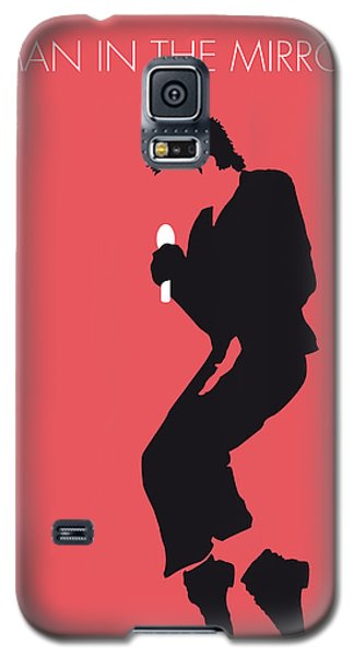 No032 My Michael Jackson Minimal Music Poster Galaxy S5 Case by Chungkong Art