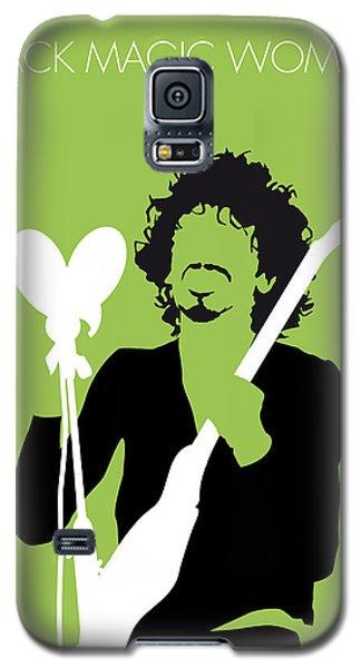 Magician Galaxy S5 Case - No046 My Santana Minimal Music Poster by Chungkong Art
