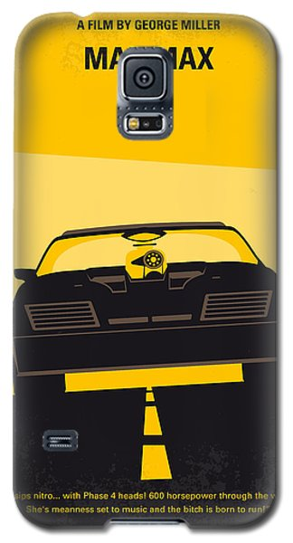 No051 My Mad Max Minimal Movie Poster Galaxy S5 Case