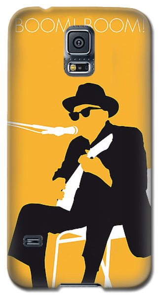 Music Galaxy S5 Case - No054 My Johnny Lee Hooker Minimal Music Poster by Chungkong Art