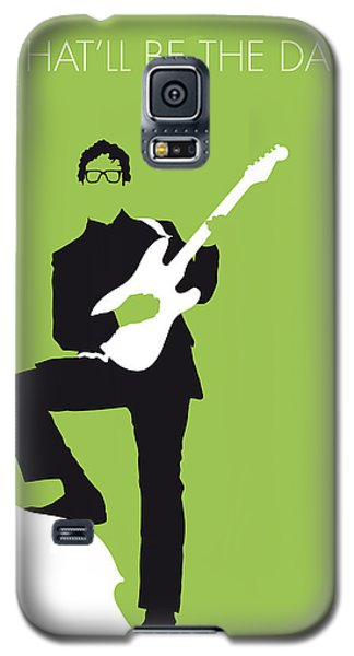 No056 My Buddy Holly Minimal Music Poster Galaxy S5 Case