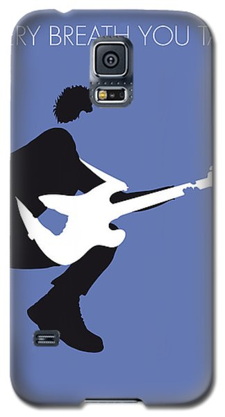 No058 My The Police Minimal Music Poster Galaxy S5 Case