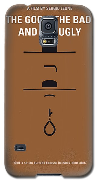No090 My The Good The Bad The Ugly Minimal Movie Poster Galaxy S5 Case