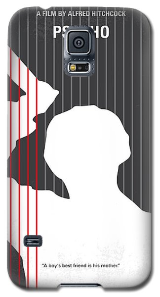 No185 My Psycho Minimal Movie Poster Galaxy S5 Case