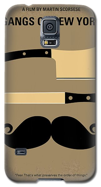 No195 My Gangs Of New York Minimal Movie Poster Galaxy S5 Case