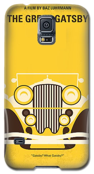 No206 My The Great Gatsby Minimal Movie Poster Galaxy S5 Case