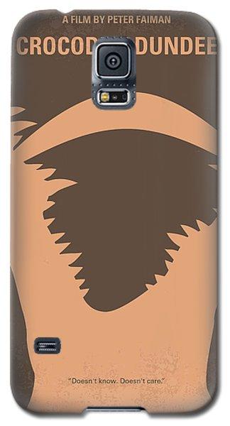 No210 My Crocodile Dundee Minimal Movie Poster Galaxy S5 Case by Chungkong Art