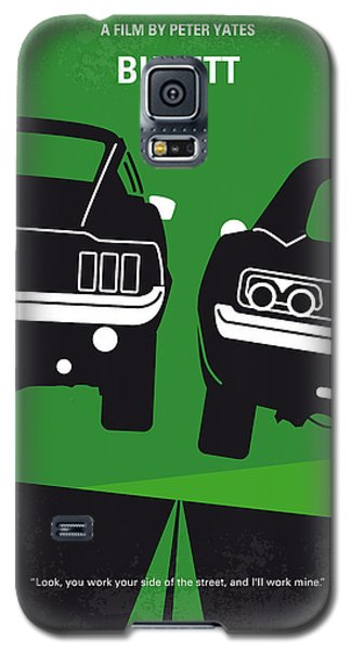 No214 My Bullitt Minimal Movie Poster Galaxy S5 Case by Chungkong Art